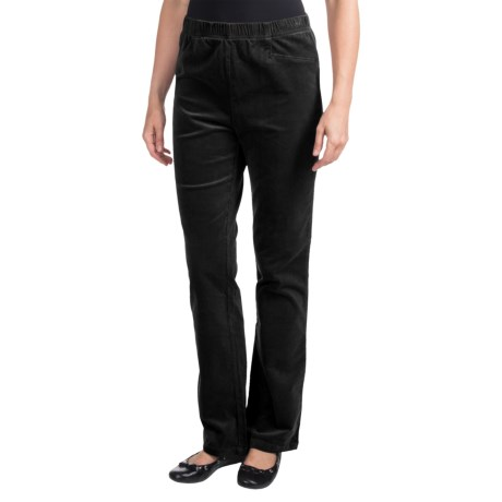 FDJ French Dressing Suzanne Soft-Spun Corduroy Pants - Bootcut (For Women) in Black
