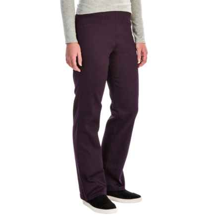 FDJ French Dressing Suzanne Stretch Cotton Leggings - Bootcut (For Women) in Aubergine - Closeouts