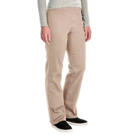 FDJ French Dressing Suzanne Stretch Cotton Leggings - Bootcut (For Women) in Beach Bluff - Closeouts