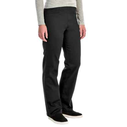 FDJ French Dressing Suzanne Stretch Cotton Leggings - Bootcut (For Women) in Ebony - Closeouts