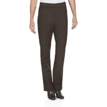 FDJ French Dressing Suzanne Stretch Cotton Leggings - Bootcut (For Women) in Mahogany - Closeouts