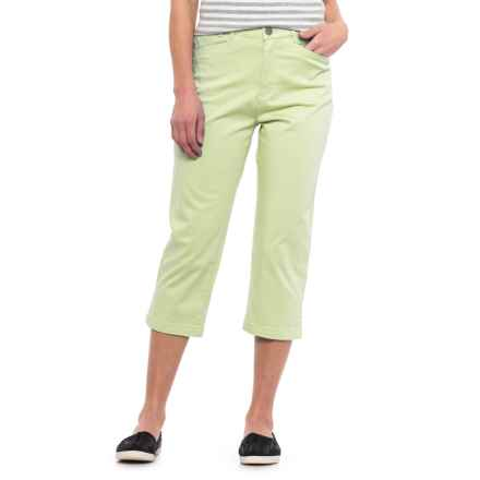 FDJ French Dressing Suzanne Summer Essential Capris (For Women) in Pistachio - Closeouts