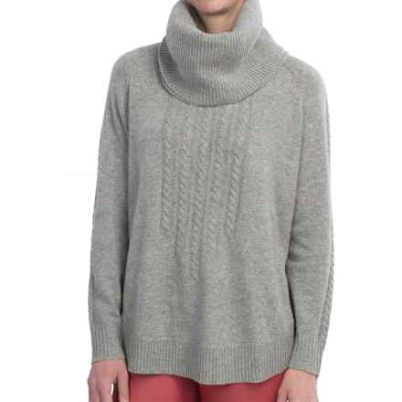 FDJ French Dressing Sweater - Removable Cowl Neck (For Women) in Grey Mix - Closeouts