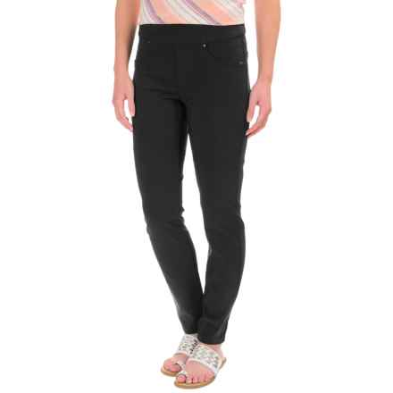 FDJ French Dressing Techno Rayon Jeggings - Slim Leg (For Women) in Black - Closeouts