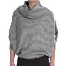 FDJ French Dressing Two-Way Rib-Knit Sweater (For Women) in Grey Mix - Closeouts