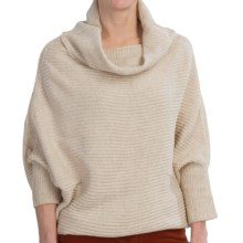 FDJ French Dressing Two-Way Rib-Knit Sweater (For Women) in Oatmeal Mix - Closeouts