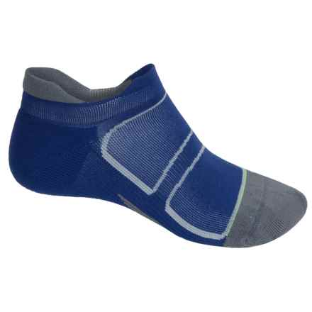 Feetures Elite Light No-Show Tab Socks - Below the Ankle, Discontinued (For Men and Women) in Navy/Reflector - Closeouts