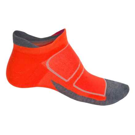 Feetures Elite Max-Cushion Socks - Below the Ankle, Discontinued (For Men and Women) in Lava/Graphite - Closeouts