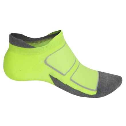 Feetures Elite Max-Cushion Socks - Below the Ankle, Discontinued (For Men and Women) in Reflector/Carbon - Closeouts