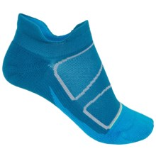 Feetures Elite No-Show Socks - Below the Ankle (For Women) in Pacific Blue/Reflector - Closeouts