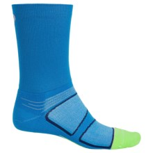 Feetures Elite Socks - Crew, Discontinued (For Men) in Brilliant Blue/Silver - Closeouts