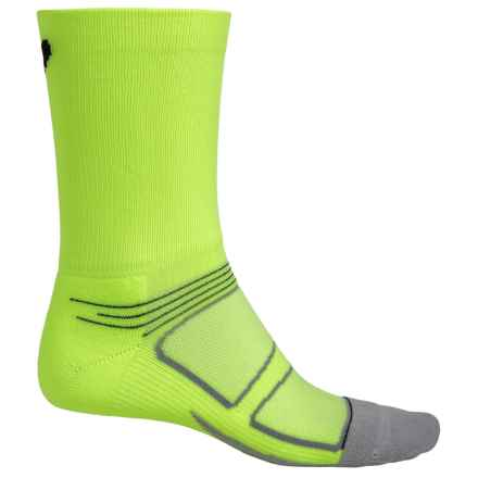 Feetures Elite Socks - Crew, Discontinued (For Men) in Reflector/Black - Closeouts