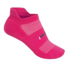 Feetures High-Performance No-Show Socks - Below the Ankle, Discontinued (For Women) in Deep Pink - Closeouts
