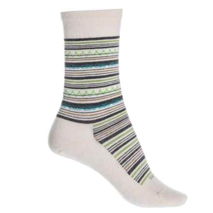 7b1401891e48d Feetures Ultra Light Santa Fe Socks - Crew (For Women) in Natural -  Closeouts