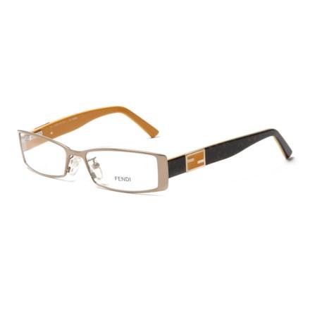 358c7184392 Fendi 749 756 Designer Optical Reading Glasses with Case (For Women) in  Gold Havana