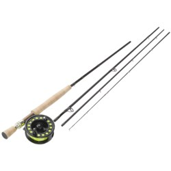 Fenwick HMX Fly Fishing Rod/Reel Combo - 4-Piece, 9' 8wt in See Photo