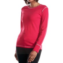 Fera Ana T-Shirt - Long Sleeve (For Women) in Sorbet Heather - Closeouts