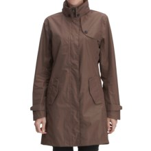 Fera Angel Trench Coat - Waterproof (For Women) in Twig - Closeouts