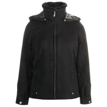 Fera Bianca Jacket - Insulated, Faux-Fur-Lined Collar (For Women) in Black - Closeouts