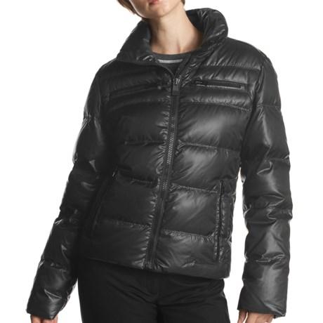 Fera Chelsea Down Jacket - 550 Fill Power (For Women) in 001 Black