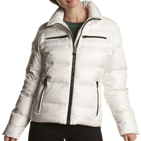 Fera Chelsea Down Jacket - 550 Fill Power (For Women) in 102 White Cloud