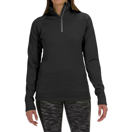 Fera Chill Out Pullover Shirt - Zip Neck, Long Sleeve (For Women)