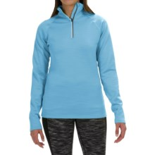 Fera Chill Out Pullover Shirt - Zip Neck, Long Sleeve (For Women) in Horizon - Closeouts
