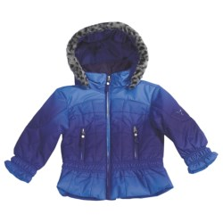 Fera Cirrus Jacket - Insulated (For Girls) in Blueberry Ombre