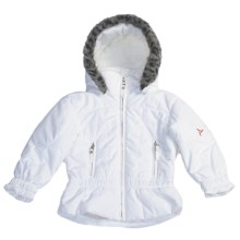 Fera Cirrus Jacket - Insulated (For Girls) in White - Closeouts