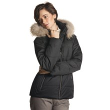 Fera Claire Jacket - Insulated, Faux-Fur Trim (For Women) in Black - Closeouts