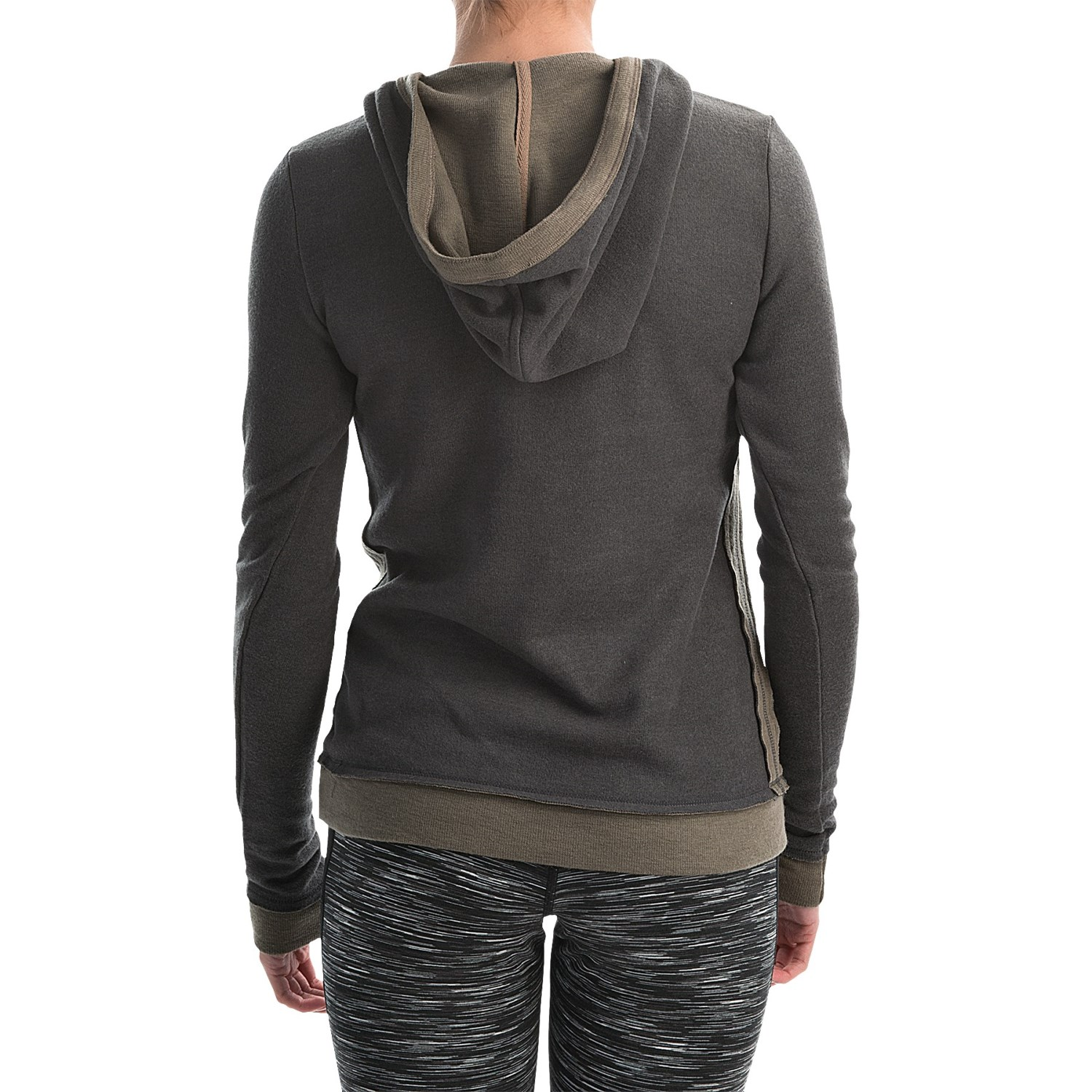 Our women's hoodie celebrates your outdoor lifestyle with Legendary® embroidery and welcome warmth. Cotton/polyester fabric is comfortable, warm, and surrounds you in softness. 3-button henley placket, adjustable 3-piece hood with drawstring, kangaroo pocket.