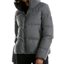 Fera Downtown Down Jacket -  600 Fill Power (For Women) in Grey Flannel - Closeouts