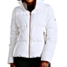 Fera Downtown Down Jacket -  600 Fill Power (For Women) in White Cloud - Closeouts