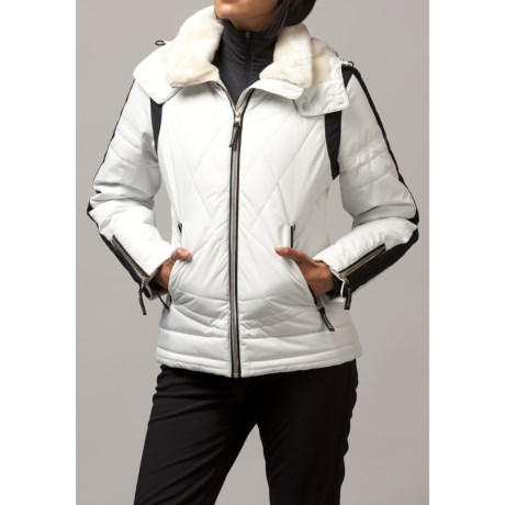 Fera Dylan Ski Jacket - Insulated (For Women) in 75 Porcelain