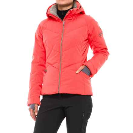 Fera Holly PrimaLoft® Down Ski Jacket - Waterproof, 650 Fill Power (For Women) in Melon - Closeouts