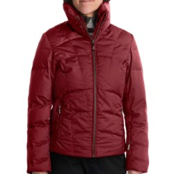 Fera Jackie Down Ski Jacket - 550 Fill Power (For Women) in Anthracite