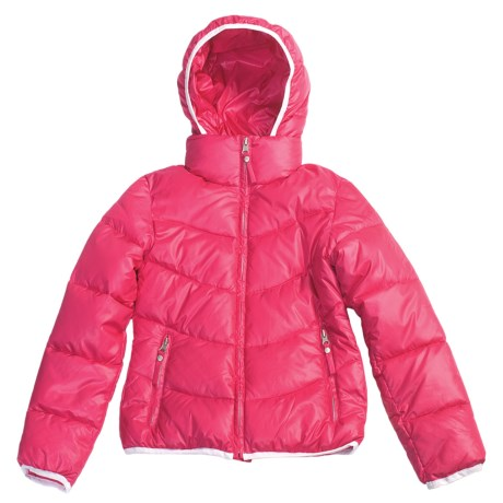 Fera Jr. Starlight Jacket - Insulated (For Youth Girls) in Fuschia