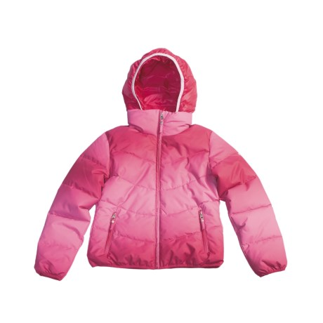 Fera Jr. Starlight Ombre Jacket - Insulated (For Youth Girls) in Candy