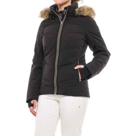 Fera Loren PrimaLoft® Down Ski Jacket - Waterproof, Insulated (For Women) in Black/Bronze - Closeouts