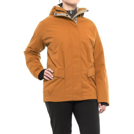 Fera Phoebe Parka - Insulated (For Women) in Saddle