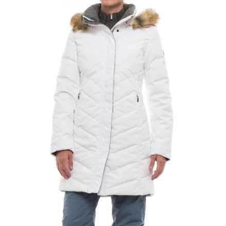 Fera Selene Coat - Waterproof, Insulated (For Women) in White Cloud - Closeouts