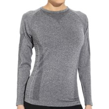 Fera Soul Seamless Base Layer Top - Long Sleeve (For Women) in Heather Grey - Closeouts