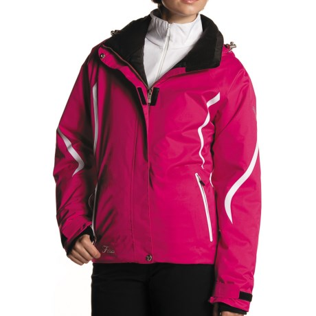 Fera Vitesse Jacket - Insulated (For Women) in Fuschia