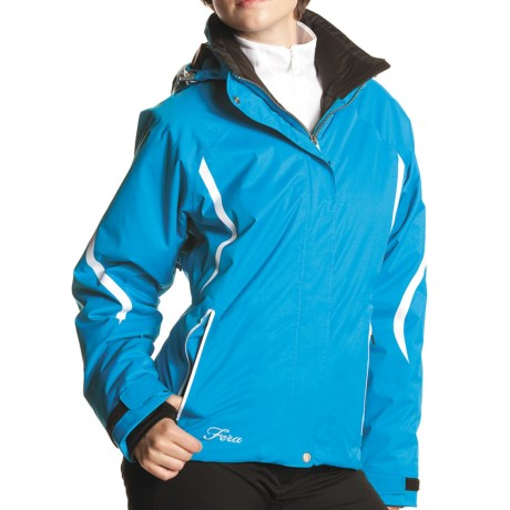 Fera Vitesse Jacket - Insulated (For Women) in Black