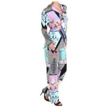 Feraud Paris Printed Jersey Pajamas - Long Sleeve (For Women) in Print - Closeouts