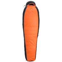 Ferrino 21°F Highlab Silver Pro Down/PrimaLoft® Sleeping Bag - Mummy in Orange/Black - Closeouts