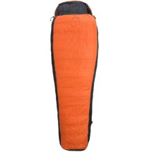 Ferrino 32°F Highlab Silver Down/PrimaLoft® Sleeping Bag - Mummy in Orange/Black - Closeouts