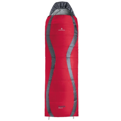 Ferrino 37&degF Yukon Pro Sleeping Bag Rectangular, Hooded