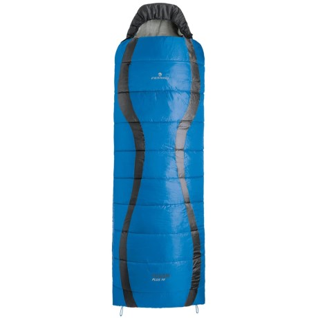 Ferrino 45&degF Yukon Plus Sleeping Bag Rectangular, Hooded