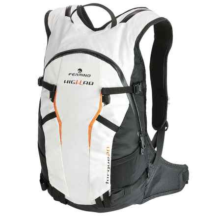 Ferrino Highlab Torque 20 Backpack in White - Closeouts